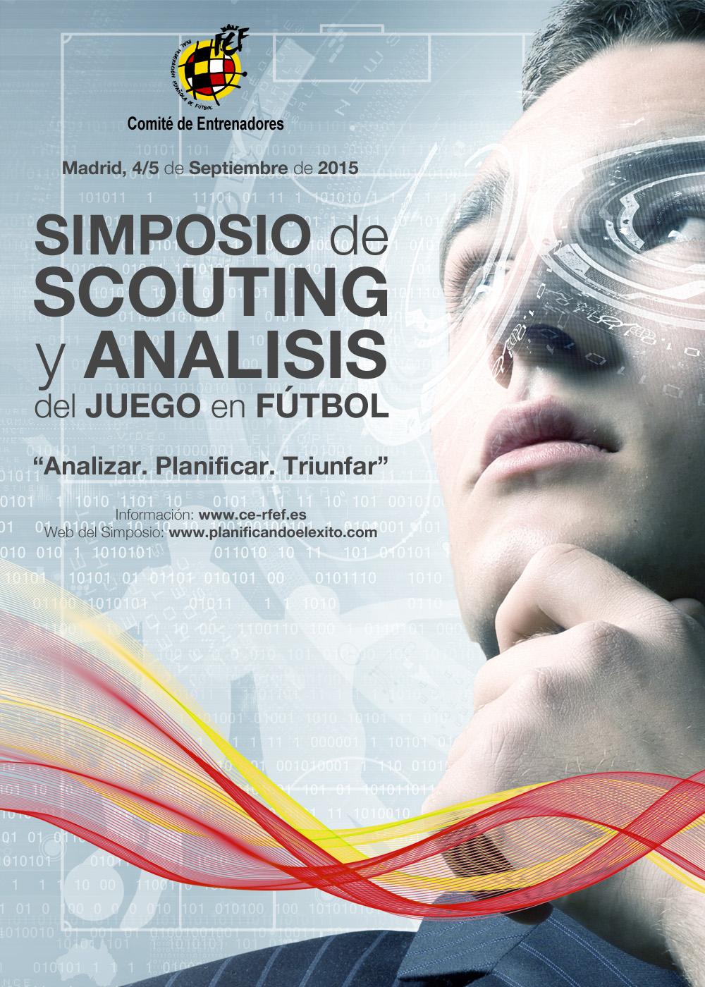 """I Simposio de Scouting y Análisis del Juego en Fútbol """"Analizar. Planificar. Triunfar"""""""